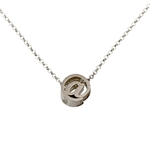 At Symbol Necklace - Recycled Sterling Silver