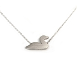 Loon Charity Necklace for Maine Audubon