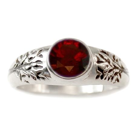 tree of life engagement ring - Garnet Wedding Rings