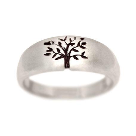 tree of life wedding ring white gold - Wedding Rings White Gold