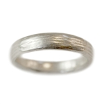 Wide River Wedding Band
