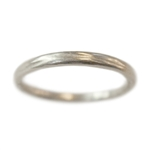 Narrow River Wedding Band