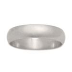 Classic 5mm Half Round Wedding Band
