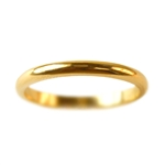 Classic 2mm Half Round Wedding Band