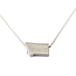 Montana Necklace - Recycled Sterling Silver