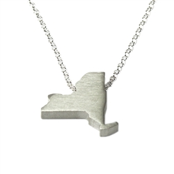 New York Necklace - Recycled Sterling Silver