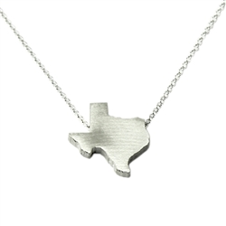 Texas Necklace - Recycled Sterling Silver