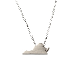 Virginia Necklace - Recycled Sterling Silver