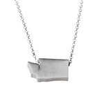Washington Necklace - Recycled Sterling Silver